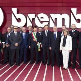 Foto di gruppo alla Brembo