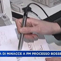 Lettera di minacce e Pm e Corte del processo Bossetti