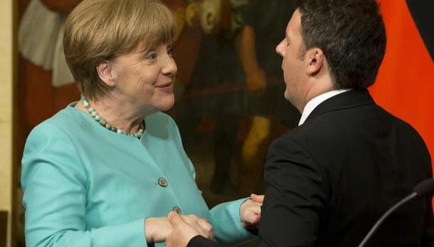 Renzi, il 31/8 bilaterale con Merkel