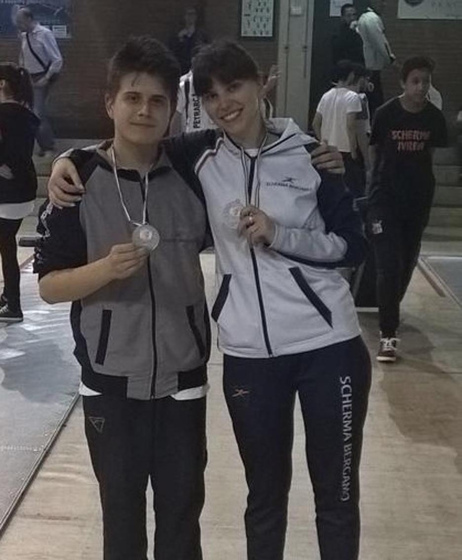 Mario Vialla e Veronica Galli