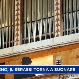 Santuario di Sombreno, torna a suonare l'antico organo Serassi del 1737