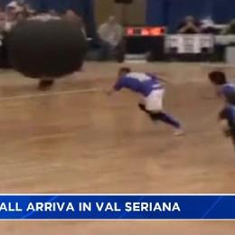Kin Ball dal canada in Val Serina lo sport con la palla gigante