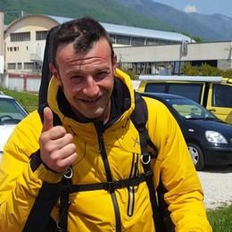 Serina, muore camionista 35enne «Il tuo sorriso sempre nella memoria»