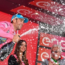 Vincenzo Nibali trionfatore del Giro «Non ci sono parole, solo emozioni»