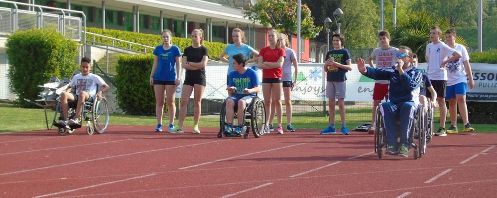 Atletica: in pista giovani e paralimpici  A Nembro cadono sei primati italiani
