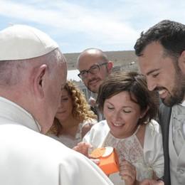 «Abbiamo messo su casa con le parole del Papa»