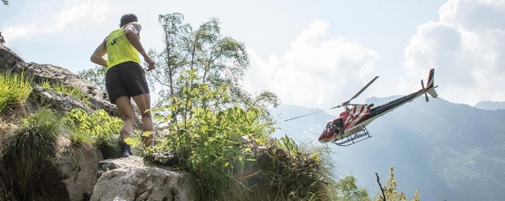 Da Valbondione al Rifugio Coca di corsa  Giovedì spettacolo con l'Orobie Vertical