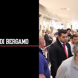 Marco Carta incontra i fan a Stezzano