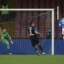 Il gol del 2-0 di Higuain