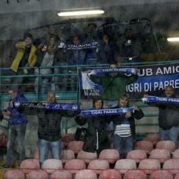 I tifosi dell'Atalanta a Napoli