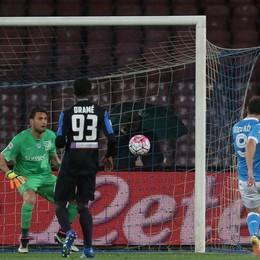 Il gol dell'1-0 di Higuain