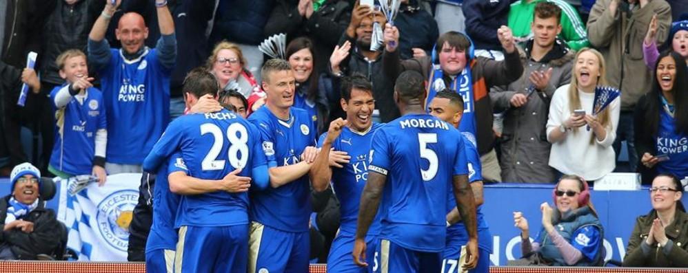 Leicester, il sogno dei tifosi atalantini