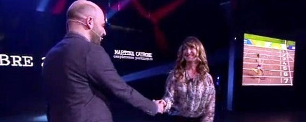 Martina Caironi ospite da Saviano – Video «Atleta tenace, sorridente, maniacale»