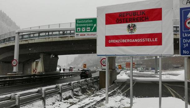 Vienna, controlli se cresce flusso a sud
