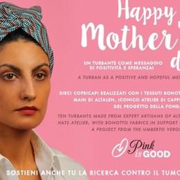La moda fa bene alla salute. A Bergamo Un turbante per combattere il cancro