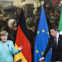 Tra Renzi e Merkel spunta l'Italcementi I quattrocento esuberi entrano nel vertice