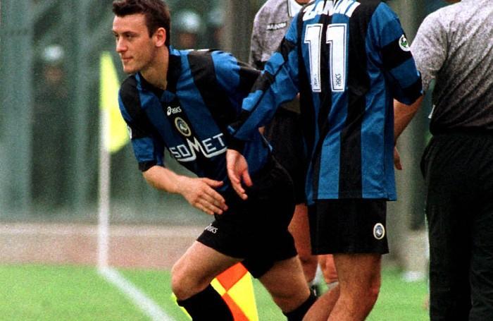 L'esordio di Bellini con l'Atalanta: entra in sostituzione di Zanini al 26' st di Atalanta-Verona 3-2 dell'11 aprile 1999