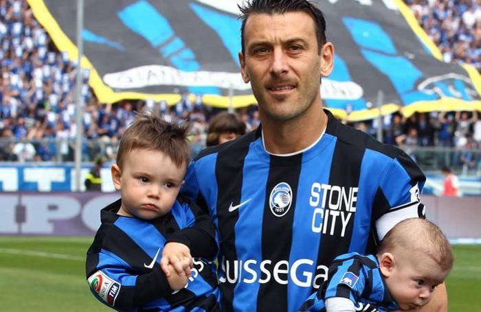 Bellini con i due figli, Federico, il più grande, e Luca, il più piccolo
