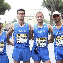 Marcia: Giupponi 8° nella 50 km a Roma Al 99% sarà ai Giochi di Rio nella 20 km
