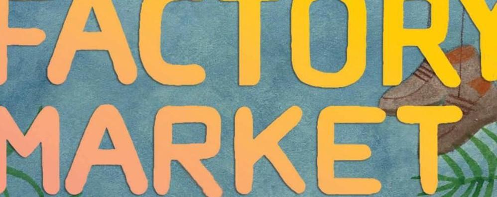 Domenica torna il Factory Market Inaugura l'area estiva ad Alzano
