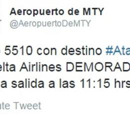 Qui Monterrey, Messico Il volo per Atalanta è in ritardo