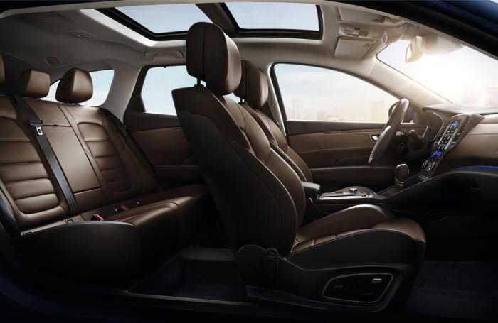 L'interno della Renault Talisman