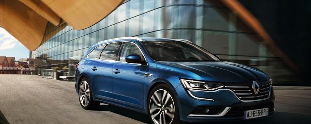 Renault Talisman  Arriva la Sw Sporter