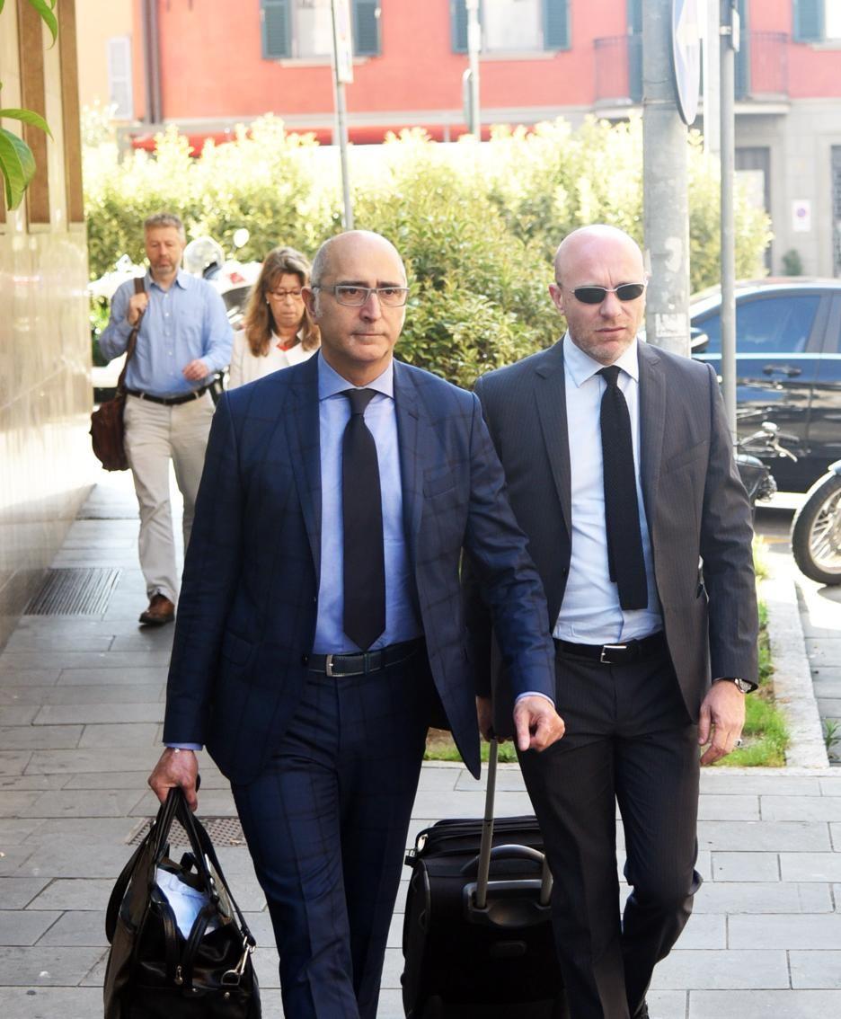 Gli avvocati Salvagni e Camporini