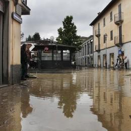 Clima «indiano» e troppo cemento I paesi bergamaschi vanno sott'acqua