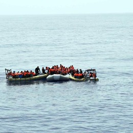 Migranti: oltre 210mila giunti via mare