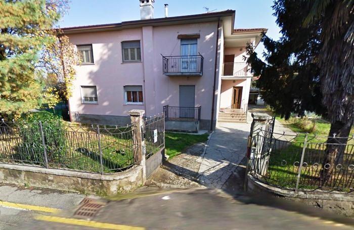 L'abitazione di Lurano dove era stata trovata la refurtiva