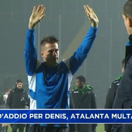 Atalanta, multa per la festa d'addio della Curva per Denis