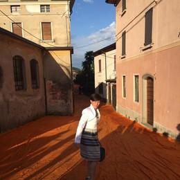 Il sindaco di Sulzano va ad accogliere la Boschi