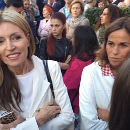 Umberta Gnutti Beretta con Cristina Parodi