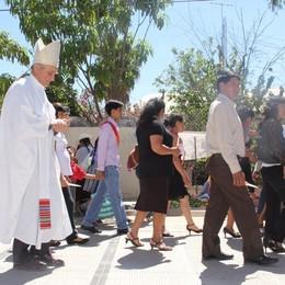 Lunedì i funerali del vescovo Gelmi Diretta web radio per chi è in Bolivia