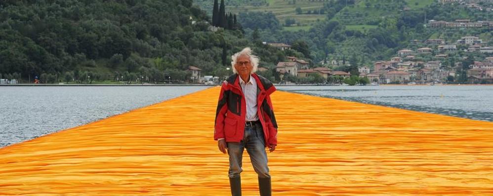 The Floating Piers e le lunghe code Christo: «Se siete di fretta non venite»