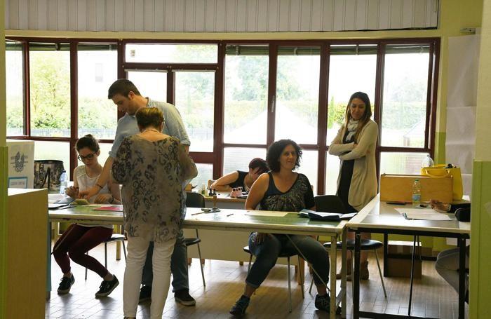 foto ballottaggi caravaggio