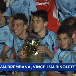 Dossena, all'AlbinoLeffe la Coppa Valbrembana