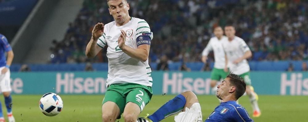 Europei, Italia battuta dall'Irlanda Brady firma la vittoria «verde»: 0-1