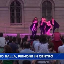 Bergamo Balla, pienone di gente in centro
