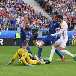 Italia-Spagna, azzurri da urlo: 2-0  Chiellini-Pellè: e ora la Germania