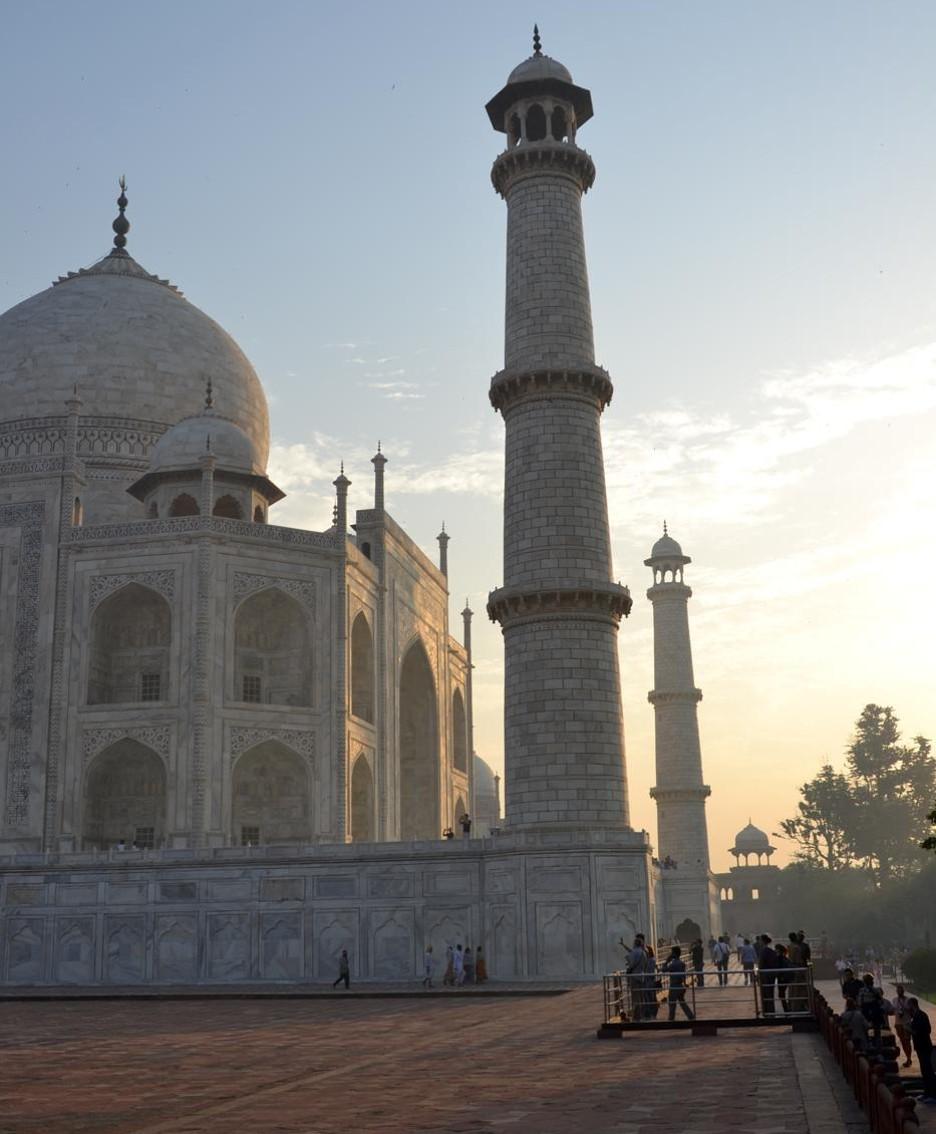 Il Taj Mahal è stato inserito nel 2007 fra le nuove sette meraviglie del mondo