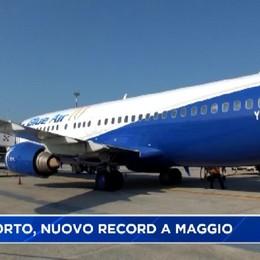 Aeroporto nuovo record di passeggeri
