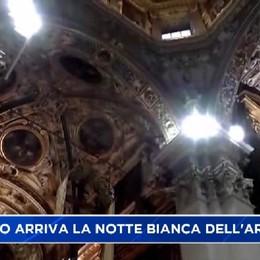 Bergamo. Notte bianca dell'arte il 9 luglio