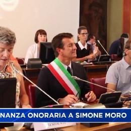Cittadinanza onoraria a Simone Moro