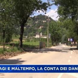 Danni a Longuelo: lo tsunami arrivato da Astino.