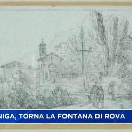Gazzaniga, riecco la fontana di Rova