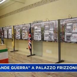 La Grande Guerra in mostra a palazzo Frizozni a Bergamo