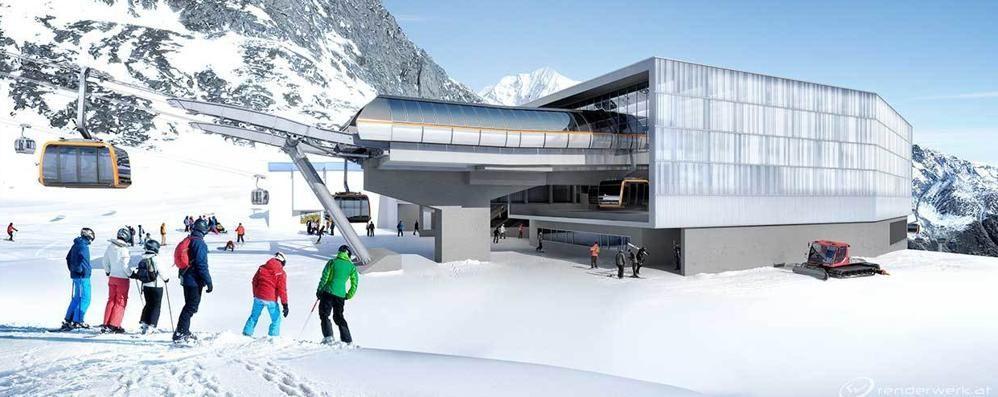 Stubai, novità per lo sci Arriva la nuova funivia
