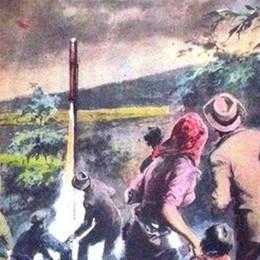 Anni  50, per fermare la grandine Bergamo spara razzi contro le nuvole